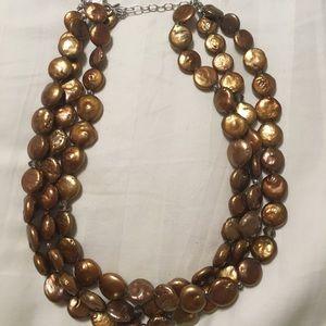 Silpada copper necklace